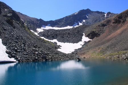 Пик Ворошилова озеро Подбелковое